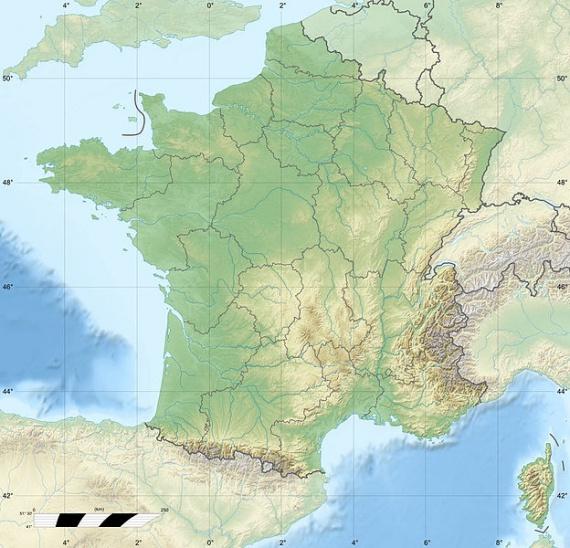 Frankreich Departements Karte.Frankreich Radreise Wiki
