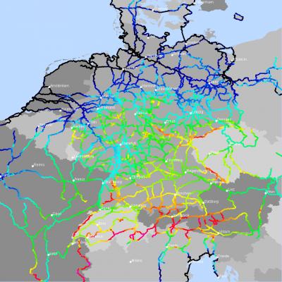 fernradwege deutschland karte Radfernweg – Radreise Wiki fernradwege deutschland karte